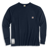 Men's Flame-Resistant Work-Dry® Long-Sleeve T-Shirt