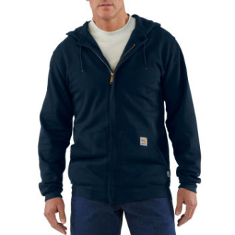 Men's Flame-Resistant Heavyweight Zip-Front Hooded Sweatshirt