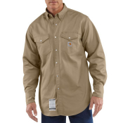 Men's Flame-Resistant Snap-Front Twill Shirt