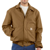 Flame-Resistant All-Season Bomber Jacket