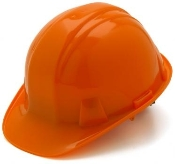 Capstyle Hard Hat Orange with Pinlock Suspension