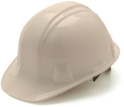 Hard Hat 4 Point Nylon Pinlock Suspension/White