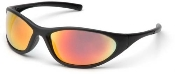 Zone II Black Frame Ice Orange or Blue Mirror Lens