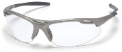 Avante Gun Metal Frame Glasses Clear Lens