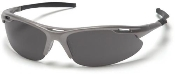 Avante Gun Metal Frame Glasses Gray Lens