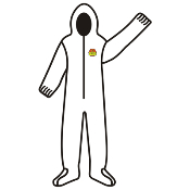 C-Max SMS Coverall w/Hood & Boots