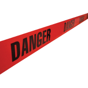 Danger Barricade Tape- Red